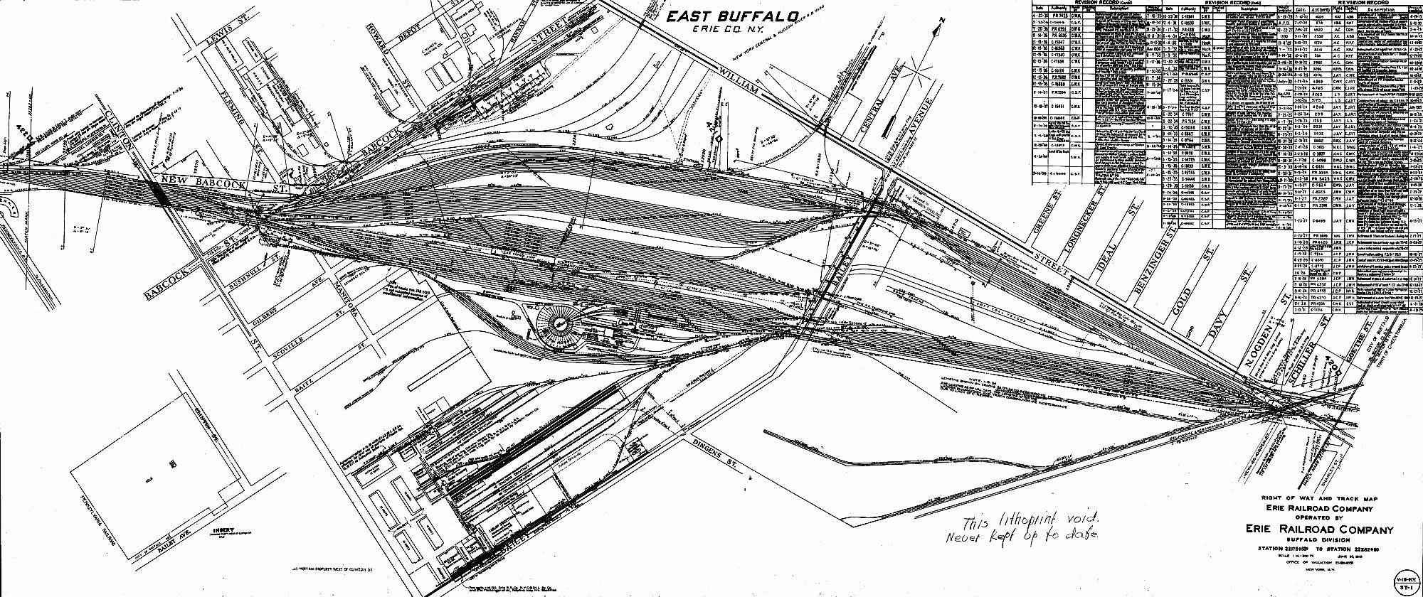 Erierailroad Land Valuation Map Samples